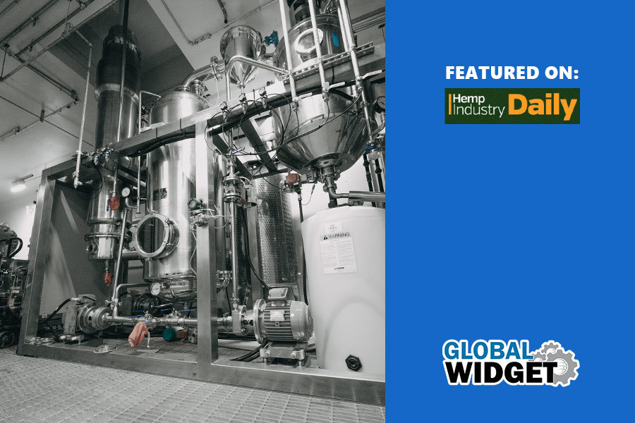 Global Widget New Extraction Facility Featured On Hemp Industry Daily