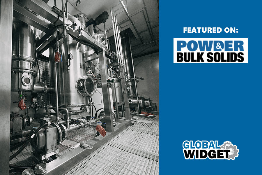 Global Widget New Extraction Facility Featured On Powder Bulk Solids